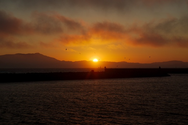 Sunsets at Berkeley Marina