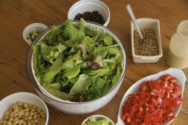 Salads: what we eat for lunch