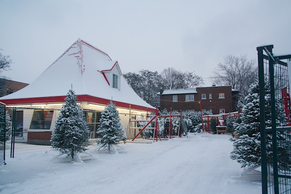 Christmas Stories: The Dairy Queen sells Christmas Trees