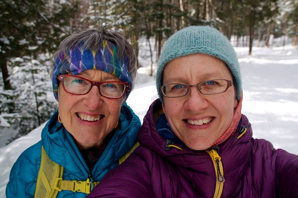 Spending time with my mom (and eagerly anticipating spring and summer adventures)