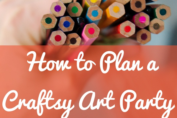 How to Plan a Craftsy Art Party