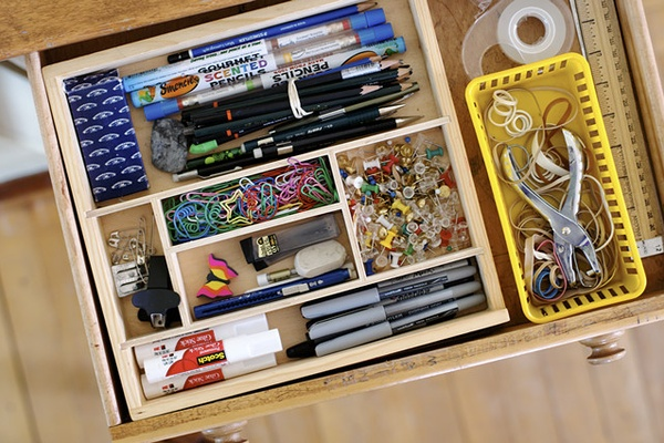 Craft Storage in a Small Space