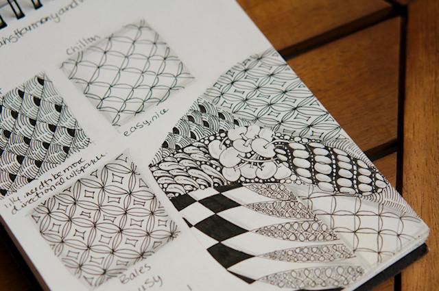 a beginners guide to beginning zentangle | renee tougas