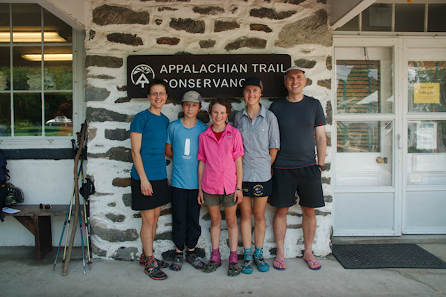 Von Trapp Family 2014 Appalachian Trail