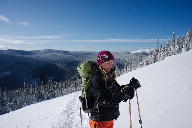 black diamond mitts backcountry skiing