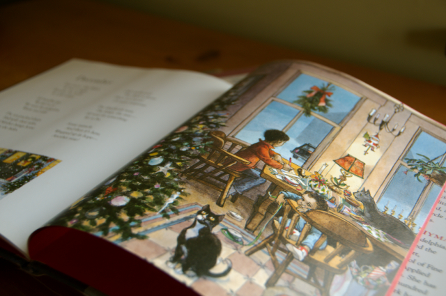 "December illustration: from the gorgeous ""A Child's Calendar"" by John Updike"