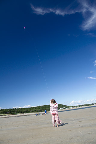girl flying kite.preview