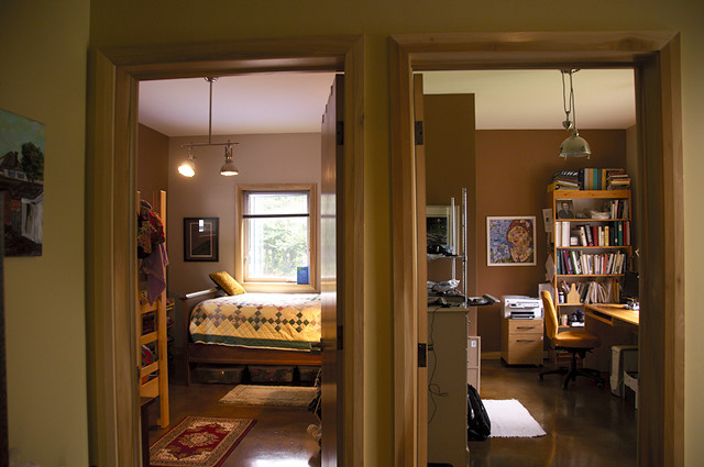 One Bedroom Ideas three kids one bedroom (not littles either) ~ how we do it | renee