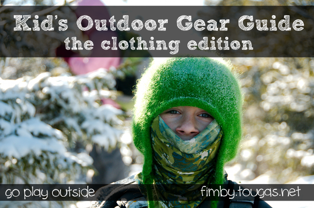 Kids Outdoor Gear Guide