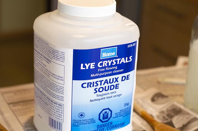 Soap recipes with lye