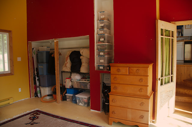 homeschool studio storage