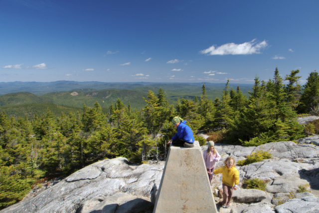 Summit of  Speckled Mountain